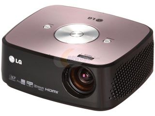 LG HX350T 1024 x 768 DLP Micro Portable LED Projector 300 lumens With Built in TV Tuner