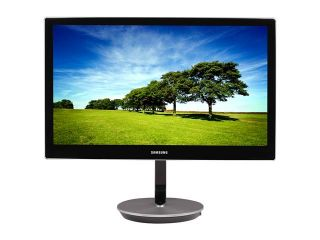 "SAMSUNG Series 9 S27B970D High Gloss Black/Brushed Aluminum 27"" 5ms (GTG) WQHD Height Adjustable HDMI PLS Panel Widescreen LED Backlit LCD Monitor 285 cd/m2 1000:1 Static w/Speakers"