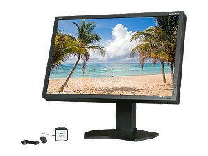 "NEC Display Solutions PA301W BK SV Black 30"" 7ms Pivot, Swivel & Height Adjustable IPS Panel Widescreen Color Critical Desktop Monitor 350 cd/m2 1000:1 w/ SpectraViewII"