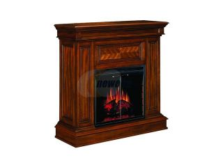 "Open Box ClassicFlame Corinth 42"" Wide Wall or Corner Electric Fireplace and TV Stand (Walnut) 23DM537 W502"