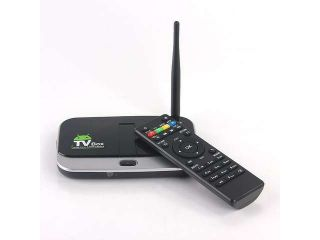 CS918S Allwinner A31 Quad Core Android 4.2.2 OS Mini TV BOX 2G/16G BT RJ45 5.0MP Camera and MIC External WIFI Antenna   Black