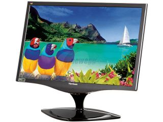 "ViewSonic VX2268WM Black 22"" 1680x1050 5ms 120Hz 3D Ready Widescreen LCD Monitor w/Speakers 300 cd/m2 1000:1"