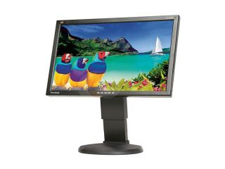 "ViewSonic Graphic Series VG2027wm black 20"" 5ms Widescreen LCD Monitor 300 cd/m2 DC 20000:1  Built in Speakers &USB ports"