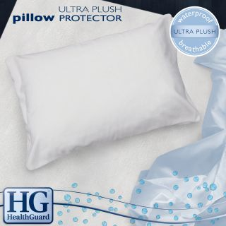 Healthguard Bed Protector Ultra Plush Jumbo size Pillow Protectors (set Of 2)