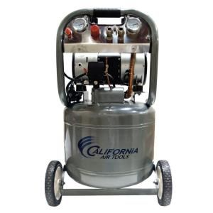 California Air Tools 10 Gal. 2 HP Ultra Quiet and Oil Free Air Compressor 10020